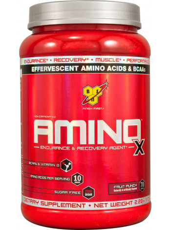 BSN Amino X 1,01кг - fruit punch
