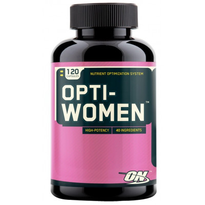 Optimum Nutrition Opti-Women, 120 капсул