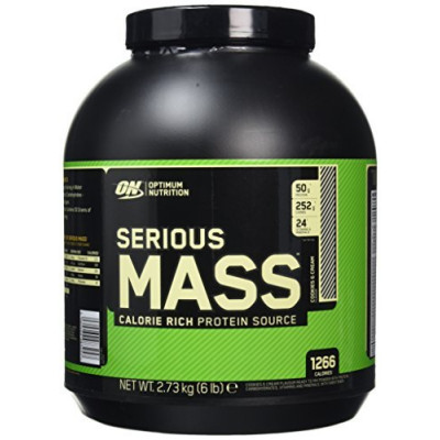 Optimum Nutrition Serious MASS 2.7 kg ваниль