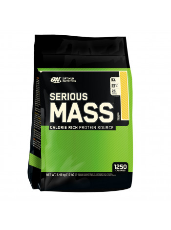 Optimum Nutrition Serious MASS 5.4кг kg