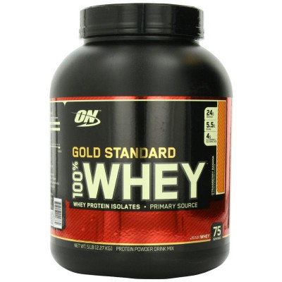 Optimum 100% Whey Gold Standard 0.9 кг
