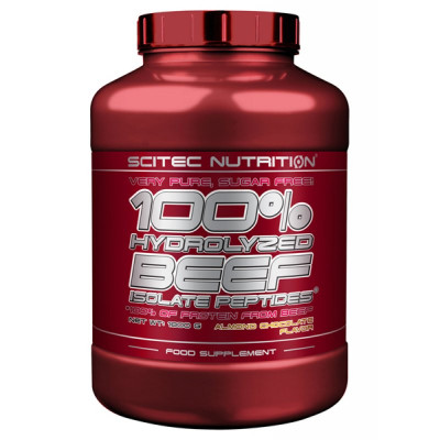 Scitec Nutrition 100% Hydrolyzed Beef Isolate Peptides 1800 гр