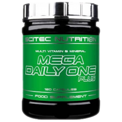 Scitec Mega Daily One Plus 120 caps.