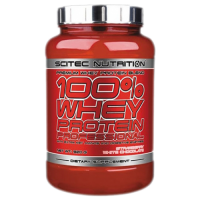 Scitec 100% Whey Protein Professional 920 strawberry white chocolate