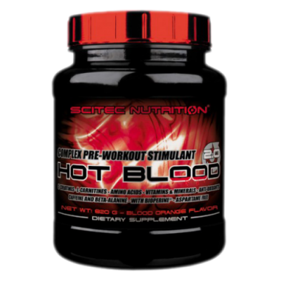 Scitec  Hot Blood 2.0 820 гр