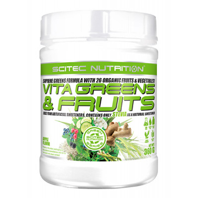 Scitec Nutrition VITA GREENS & FRUITS 360g